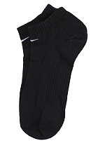 NIKE SPORTSWEAR Cotton No Cushion No Show 3 Pack Socks black