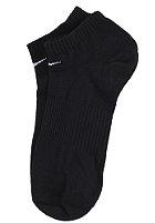 NIKE SPORTSWEAR Cotton No Cushion No Show 3 Pack Socks black