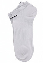 NIKE SPORTSWEAR Cotton No Cushion No Show 3 Pack Socks white