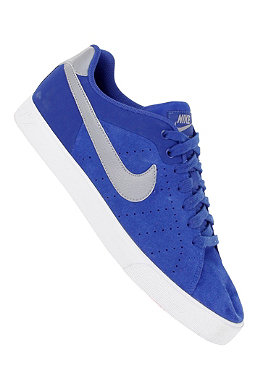 NIKE SPORTSWEAR Court Tour Suede old royal/steel/white