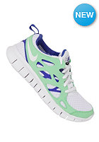 NIKE SPORTSWEAR Free Run 2.0 GS white/poison green/hypr bl/blk