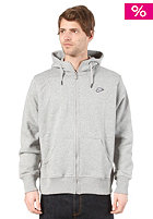 NIKE SPORTSWEAR Hbr Brushed Fz Hoody dk grey heather/white