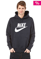 NIKE SPORTSWEAR Hbr Brushed Oth Hoody 3 dark obsidian/white