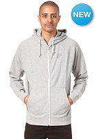 NIKE SPORTSWEAR HBR FT Washed AW77 FZ Hooded Sweat dk grey heather/medium grey