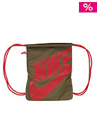 NIKE SPORTSWEAR Heritage Gymsack Bag squad green/squad green/(universal red)