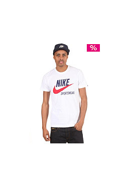 NIKE SPORTSWEAR Icon 2 S/S T-Shirt white/loyal blue
