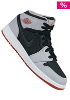 Kids Air Jordan 1 Mid Bg black/gym red-wolf grey
