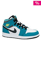 Kids Air Jordan 1 Mid Gg white/volt ice-turbo green-blk
