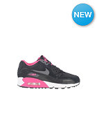 NIKE SPORTSWEAR Kids Air Max 90 2007 GS black/dark grey-pink foil-wht