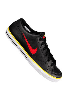 NIKE SPORTSWEAR KIDS/ Capri Leather black/university red-tr yellow-white
