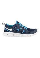 NIKE SPORTSWEAR Kids Free Run 2 GS midnight navy/white-bl lagoon