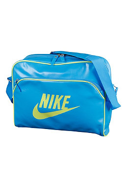 NIKE SPORTSWEAR Mens Heritage Si Track bag blue glow/volt/volt