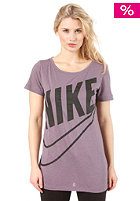 NIKE SPORTSWEAR New Futura Boyfriend dark plum/dk grey heather/black