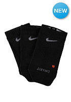NIKE SPORTSWEAR Non Cush No Show Socks 3 Pack black/flint grey