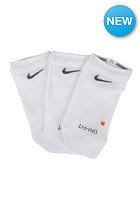NIKE SPORTSWEAR Non Cush No Show Socks 3 Pack white/flint grey