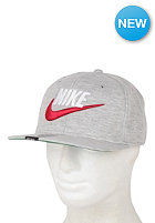 NIKE SPORTSWEAR Retro Fleece Snapback Cap grey heather/pine green/gym red