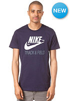 NIKE SPORTSWEAR RU NTF Brand S/S T-Shirt blackened blue/squadron blue