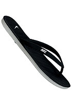 NIKE SPORTSWEAR Solarsoft Thong II black/white-base grey