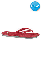 NIKE SPORTSWEAR Solarsoft Thong II legion red/white-base grey