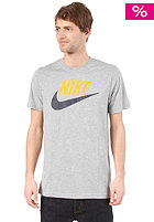 NIKE SPORTSWEAR Sportswear Icon S/S T-Shirt dark grey heather/midas gold