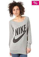 NIKE SPORTSWEAR Sportswear Ls Top dk grey heather/black