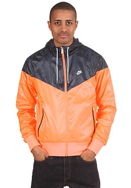 NIKE SPORTSWEAR The Windrunner Hooded Jacket bright mango/dark obsidian