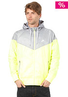 NIKE SPORTSWEAR The Windrunner Hooded Jacket volt/steel