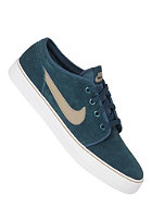 NIKE SPORTSWEAR Toki Low Leather midnight turq/khaki-khk-white