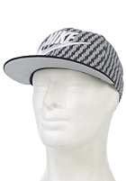 NIKE SPORTSWEAR True Futura Aop Cap base grey/black/white