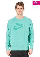 NIKE SPORTSWEAR Washed Crew Sweat atomic teal/atomic teal
