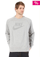 NIKE SPORTSWEAR Washed Crew Sweat dark grey heather/medium grey