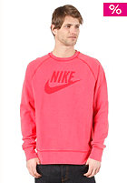 NIKE SPORTSWEAR Washed Crew Sweat hyper red/hyper red