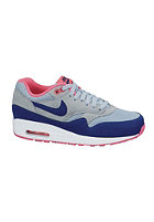 Womens Air Max 1 Essential lt mgnt gry/dp ryl bl-hypr pnk