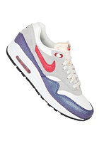 NIKE SPORTSWEAR Womens Air Max 1 Vintage sail/hyper red-strt gry-bl tnt