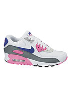 NIKE SPORTSWEAR Womens Air Max 90 Essential white/concord-zen grey-pnk glw