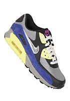 NIKE SPORTSWEAR Womens Air Max 90 mdm gry/mtllc slvr-blk-elctrc