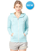 NIKE SPORTSWEAR Womens AW77 Time Out FZ Hooded Sweat sport turq htr/sail