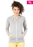 NIKE SPORTSWEAR Womens Aw77 Time Out Hooded Zip Sweat dark grey heather/sail
