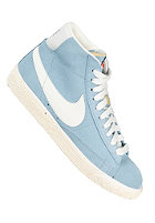 NIKE SPORTSWEAR Womens Blazer Mid Suede Vintage worn blue/sail-gum med brown