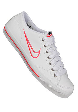 NIKE SPORTSWEAR Womens Capri white/white/hot punch/black