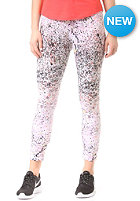 NIKE SPORTSWEAR Womens Club Legging-AOP Cropped lava glow/black