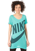 NIKE SPORTSWEAR Womens Exploded Sportswear BF S/S T-Shirt atomic teal/dk atomic teal
