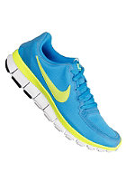 NIKE SPORTSWEAR Womens Free 5.0 V4 blue glow/volt/white/black