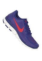 NIKE SPORTSWEAR Womens Free 5.0 V4 deep royal blue/hyper red-sail