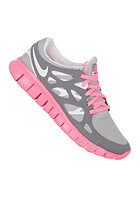 NIKE SPORTSWEAR Womens Free Run 2 Ext mtllc slvr/white-cl gry-plrzd