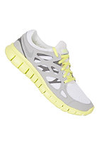 NIKE SPORTSWEAR Womens Free Run 2 Ext white/mtllc slvr-strt gry-cl g