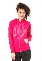 NIKE SPORTSWEAR Womens Fz Hooded Zip Sweat sport fuchsia/pink force