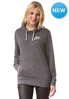 NIKE SPORTSWEAR Womens Gym Vintage Hooded Sweat dark grey/sail