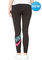 NIKE SPORTSWEAR Womens HBR Legging 2 black/pink force