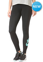 NIKE SPORTSWEAR Womens Leg-A-See-Logo black/light aqua